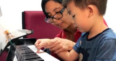 Little Play Space Suzuki Method Piano Class