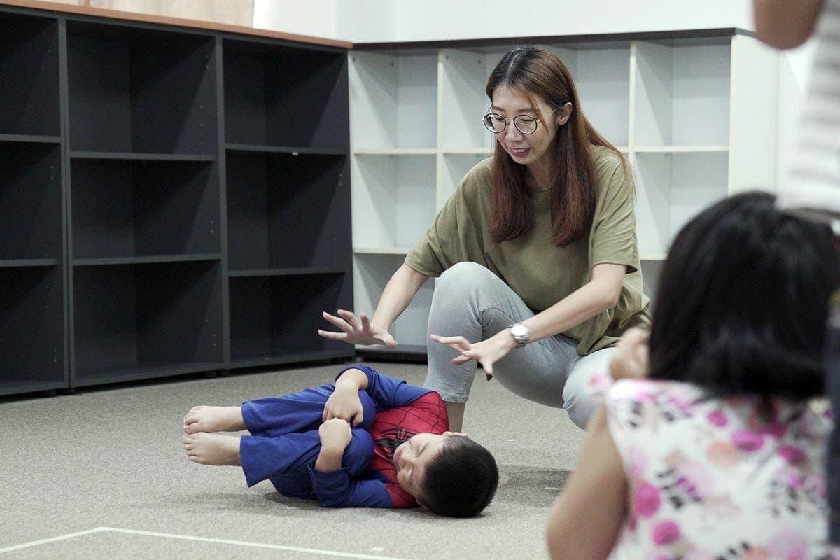 little play space kids creative drama